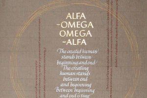 kalligrafi, alfa omega (artwork)