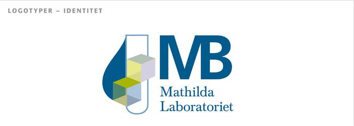 logotyp till Mathilda laboratoriet