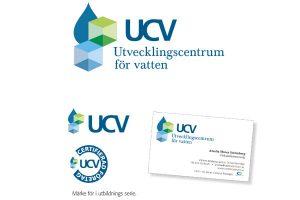 logotyp, Utvecklingscentrum för vatten