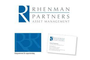 logotyp, Rhenman och Partners