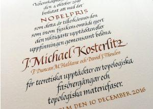 Nobelpris i fysik 2016