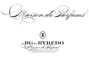 kalligrafisk logotyp, Byredo