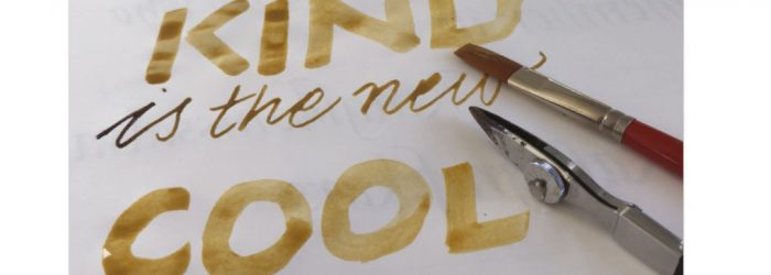 filmlänk me kalligrafi: Kind is the new cool